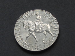 25 Pence 1977- ELIZABETH II  - Great Britain - Grande Bretagne  **** EN ACHAT IMMEDIAT **** - 1971-… : Monedas Decimales