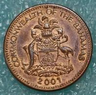 Bahamas 1 Cent, 2001 - Bahamas