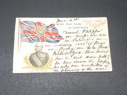 """AFRIQUE DU SUD - Carte Postale - """" With The Flag In Pretoria """" ( 1910 ) - L 20665 - Afrique Du Sud"""