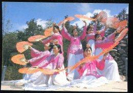 CPM Coree Du Sud Koréan Traditional Fan Dance - Corée Du Sud