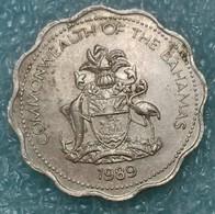 Bahamas 10 Cents, 1989 ↓price↓ - Bahamas