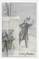 Snow Scene - Card Produced In Austria - 1900-1949