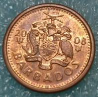 Barbados 1 Cent, 2008 ↓price↓ - Barbados