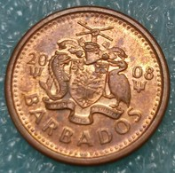 Barbados 1 Cent, 2008 ↓price↓ - Barbades