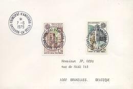 1979 Paire Europa    Jolie Lettre - Brieven En Documenten