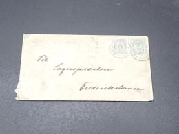 DANEMARK - Enveloppe Pour Frederiksham , Affranchissement Plaisant - L 20669 - 1864-04 (Christian IX)