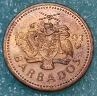 Barbados 1 Cent, 2008 - Barbados