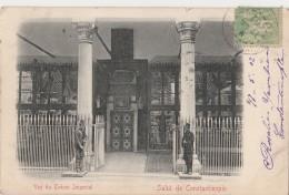 R10-  SALUT DE CONSTANTINOPLE (TURQUIE)  VUE DU TRESOR IMPERIAL -  - (ANIMÉE - OBLITERATION DE 1902) - Turkey