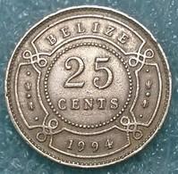 Belize 25 Cents, 1994 - Belize