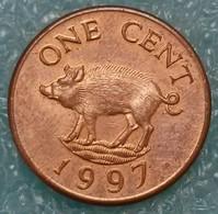 Bermuda 1 Cent, 1997 ↓price↓ - Bermuda