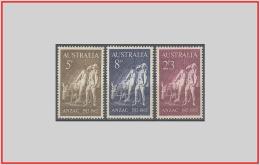 Australia 1965 - Cat. 308/10 (MNH **) Anninersario Di Anzac - Anniversary Of Anzac (010716) - 1952-65 Elizabeth II: Dezimalausgaben (Vorläufer)