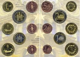 LETTONIE LATVIJAS LETTONIA 2004 BU EURO PROBE TRIAL ESSAI - INA 12.500 Ex.seulement/only ! - Latvia