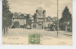 SUISSE  - ST. GALL - ST. GALLEN - Universitätsplatz (tramway ) - SG St. Gall