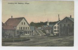 U.S.A. - CONNECTICUT - Looking Into DANBURY Village - Etats-Unis