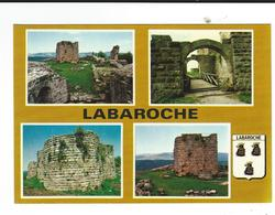 CPM  68 Labaroche Multivues Chateau Hohnack Circulé TBE - Otros Municipios
