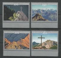 Liechtenstein  2018 Mi.Nr. 1905 / 1908  , Gipfelkreuze (II) - Postfrisch / MNH / (**) - Liechtenstein