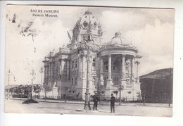 Sp- BRESIL - RIO DE JANEIRO - Palacio Monroe - Timbre - Cachet - - Rio De Janeiro