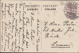 3303  Entero Postal Mikkeli 1922 St Michel - Entiers Postaux