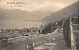 """0064 """" BELLANO - LAGO DI COMO  - CART. ORIG. NON  SPED. - Como"""