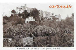 06 CARROS VUE GENERALE CÔTE MIDI   - 9 - SUPERBE - France