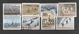 1954 - N. 1693/700 USATI (CATALOGO UNIFICATO) - Used Stamps