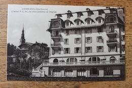 COMBLOUX (74) - L'HOTEL PLM - LE CLOS LACHENAL ET L'EGLISE - Combloux