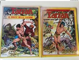 LOTTO 2 TARZAN GIGANTE COLLEZIONE - 1980 1981 - A COLORI - Klassiekers 1930-50