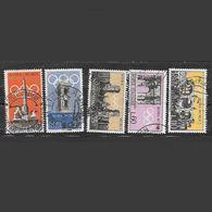Italia 1959  Propaganda Per L'Olimpiade A Roma Nel 1960  Serie Completa Usata - 6. 1946-.. Repubblica