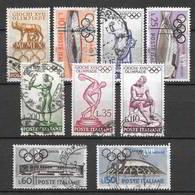 Italia 1960  17a Olimpiade (Roma 1960)  Serie Completa Usata - 6. 1946-.. Repubblica