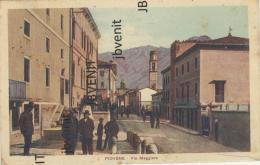 PIOVENE ROCCHETTE (VICENZA) - Via Maggiore (animata) - Vicenza