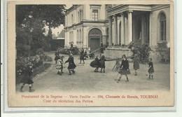 Tournai - Pensionnat De La Sagesse, Chaussée De Renaix, Verzonden 1919 - Doornik