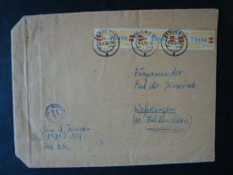DDR , Dienstmarken B, Mi-Nr. 25 L Mef Auf A5 Brief, Ministerium D. Inneren, Berlin - DDR