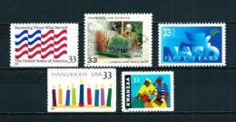 Estados Unidos  Nº Yvert  2924-2932-2960-2998/9  En Nuevo - Estados Unidos