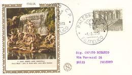 ITALIA, FDC GOLD FILAGRANO ,1973, MORTE LUIGI VANVITELLI. - F.D.C.