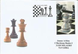 MADRID CC MAT PRIMER DIA FDC AJEDREZ CHESS - Chess