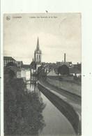 Leuven - L'eglise Ste-Gertrude Et La Dyle, Verzonden 1914, - Leuven