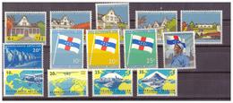 ANTILLE OLANDESI - 1959- ALCUNI VALORI. - MH* - Curacao, Netherlands Antilles, Aruba