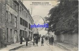 Monistrol Sur Loire - Grand Chemin Et Bureau Des Voitures - 1910 - Monistrol Sur Loire