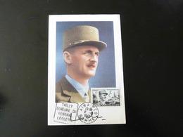 CARTE MAXIMUM      GENERAL LECLERC - 1940-49