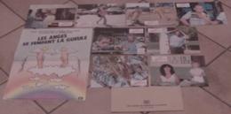 AFFICHE CINEMA ORIGINALE FILM LES ANGES SE FENDENT LA GUEULE + 8 PHOTOS EXPLOITATION JAMIE UYS 1985 TBE - Posters