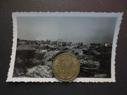 Le Havre - Photo Originale - Place Des Halles - Bombardement 5 Septembre 1944 - TBE - - Places