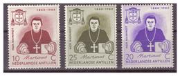 ANTILLE OLANDESI -1960 - PADRE NIEWINDT. SERIE COMPLETA. - MH* - Curacao, Netherlands Antilles, Aruba