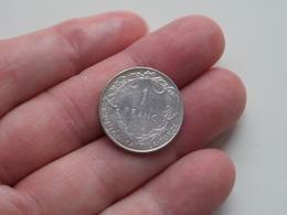 1914 - 1 Franc Belgique ( KM 72 ) Uncleaned ! - 1909-1934: Albert I
