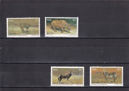 Africa Del Sur Nº 405 Al 408 - África Del Sur (1961-...)