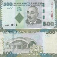 Tanzania - 500 Shillings 2010 XF+ Lemberg-Zp - Tanzanie