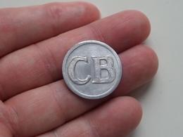 CB - 1 ( Alu ) Uncleaned ! - Jetons & Médailles