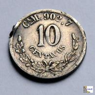México - Chihuahua - 10 Centavos - 1893 - Mexique