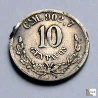 México - Chihuahua - 10 Centavos - 1893 - México