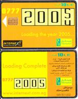 EGYPT - Loading The Year 2005, Menatel Telecard 10 L.E., Chip Incard 4, CN : 0091, Used - Egypt