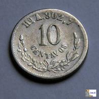 México - Hermosillo - 10 Centavos - 1881 - Mexique
